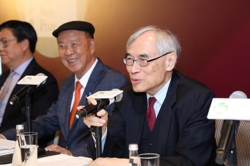Professor Lawrence J. Lau, Chairman, Prize Recommendation Committee, LUI Che Woo Prize