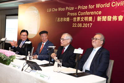 LUI Che Woo Prize – Prize for World Civilisation announces the 2017 Laureates.