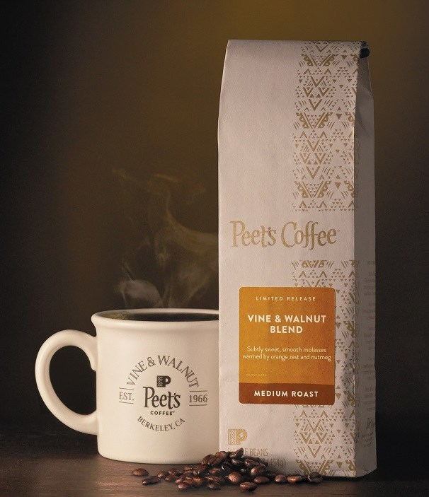 Peet's Coffee Welcomes Back Fall Favorites and Unveils Vine & Walnut Blend to Honor Original Coffeebar