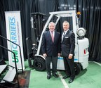 U.S. Senator Dick Durbin Visits UniCarriers Americas To Highlight Job Growth And Impact On Commerce