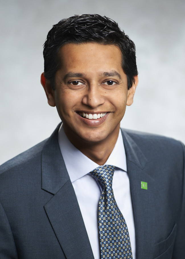 Dinesh Garbharran, Interim CRO, TD Insurance & VP, Risk Management, TD Bank (Advisory Council Member for the Certificate in Risk Management) (CNW Group/York University)