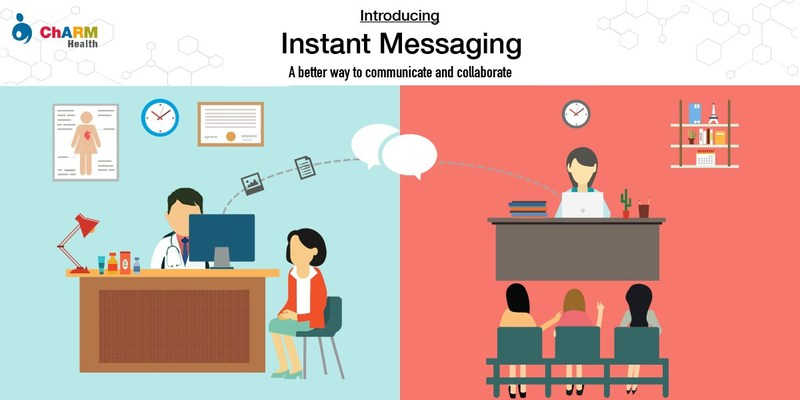 Instant way to communicate with fellow providers and support staff
