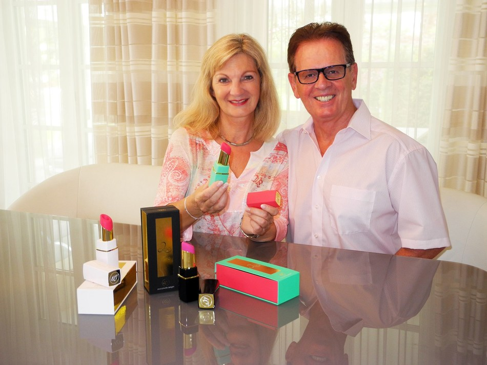 Michael & Brigitte Lenke: Founder Womanizer and his wife (PRNewsfoto/Womanizer)