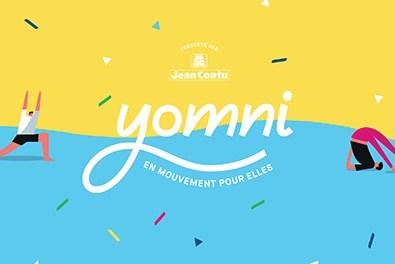 Logo : YOMNI (Groupe CNW/Fondation du cancer du sein du Québec)