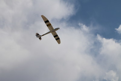 AI controlled Sailplane in action