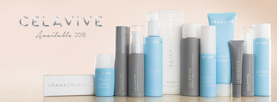 Celavive is USANA's new skincare line. Available early 2018.