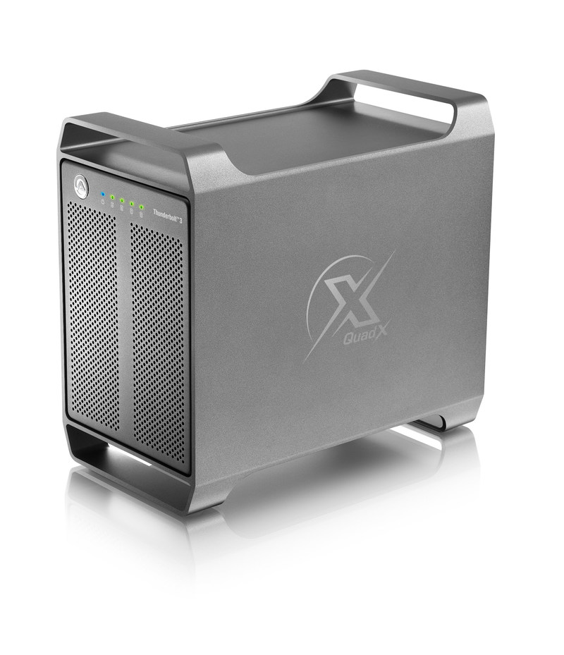 Akitio Thunder3 Quad X Thunderbolt 3 storage enclosure