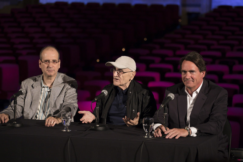 François Beaudry-Losique, Director General of the Imperial Theatre, Serge Losique, Chairman of the Board of the Imperial Theatre and Pierre Karl Péladeau, President and Chief Executive Officer, Quebecor (CNW Group/Quebecor)
