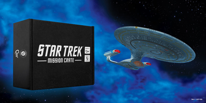 Star Trek™ Mission Crate Launching This Holiday (PRNewsfoto/Loot Crate)