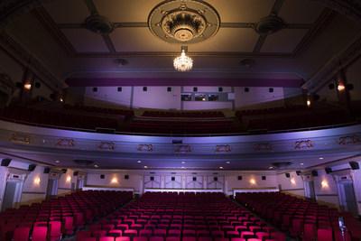Classé monument historique, cet ancien cinéma de type « super palace » est considéré comme l''un des plus beaux théâtres de Montréal. (Groupe CNW/Québecor)