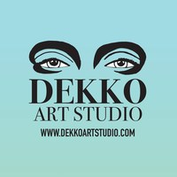 """DEKKO Art Studio presents the haiku of art nouveau in the collection NINE LIVES. """"My illustrations celebrate the ephemeral moments of life by framing the beauty and motion of the subject within the canvas and within its own emotional context,"""" says founder and artist, Kristin Burnett. Working from real life subjects, landscapes, and her subconscious, the serene and the surreal merge into one. Clean line-work dominates figure-drawing where white space speaks as loudly as vivid colors.  http://www.dekkoartstudio.com"""