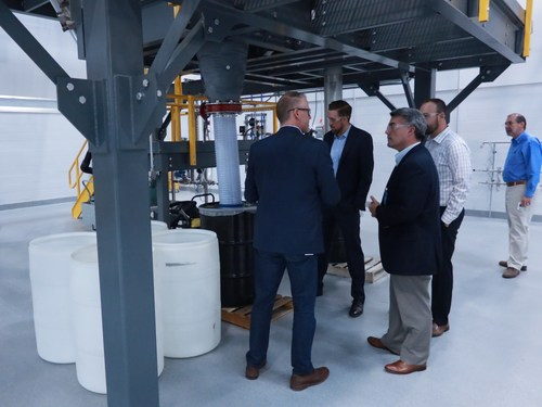 US Senator Cory Gardner visits the CoorsTek Center for Advanced Materials in Golden, Colorado