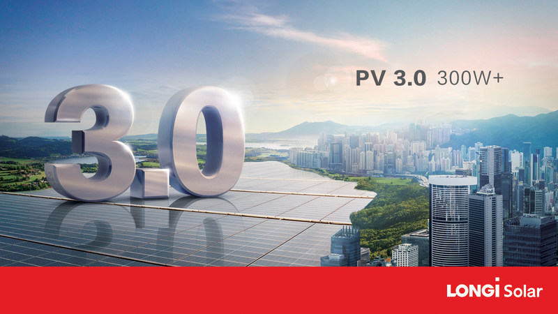 Great PV 3.0 Era, Powered by 300W+ Solar Module