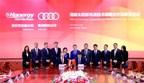 Hanergy et Audi signent un protocole d'accord de collaboration stratégique (PRNewsfoto/Hanergy Thin Film Power Group L)