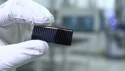Celda de película delgada GaAs flexible de Hanergy (PRNewsfoto/Hanergy Thin Film Power Group L)