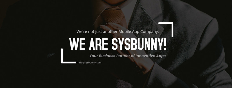 SysBunny - Your Business Partner of Innovative Apps.