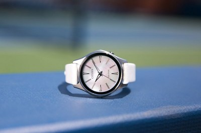 Enlightened by the active woman, this CITIZEN Billie Jean King Commemorative Modena watch was designed to fit her lifestyle from work to play and everything in between. This timepiece, with custom special edition caseback, supports the Billie Jean King Leadership Initiative.