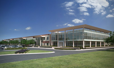 doTERRA Campus Rendering - Manufacturing Facility Expansion