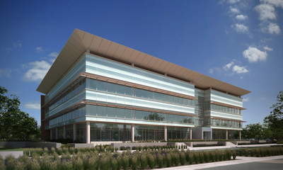 """doTERRA Campus Rendering - New Office Building """"F"""""""