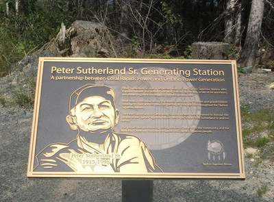 OPG Celebrates Grand Opening of Peter Sutherland Sr. Generating Station (CNW Group/Ontario Power Generation Inc.)