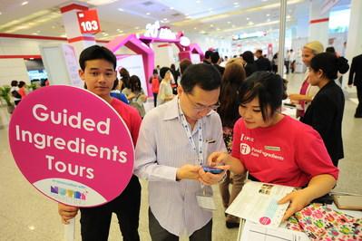 Innovation Tours at Fi Asia (PRNewsfoto/UBM)