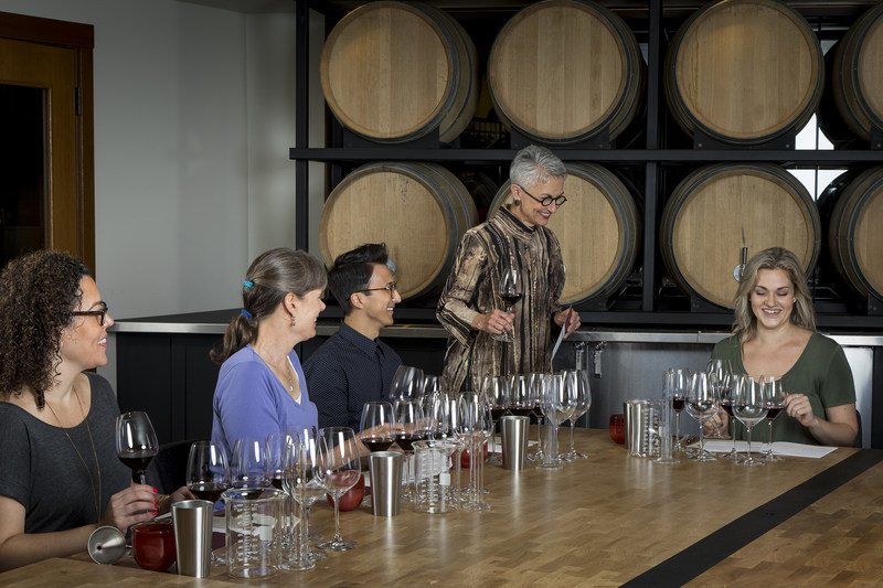 Chateau Ste Michelle Interactive Blending Experience
