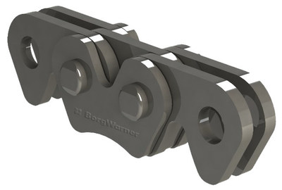 BorgWarner's silent oil pump chain delivers durability and performance with a compact, low-noise, low-weight design for Toyota's new 8-speed automatic transmission.