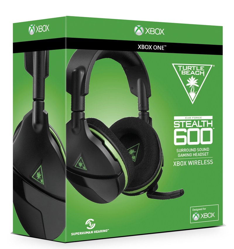 The Turtle Beach Stealth 600 is the latest gaming headset for Xbox One, and the first on market to debut Microsoft's new Xbox Wireless direct to console technology.  It features 50mm drivers, Windows Sonic surround sound, an all-new modern style with a flip-up mic and an abundance of features.  Available now for an MSRP of $99.95.