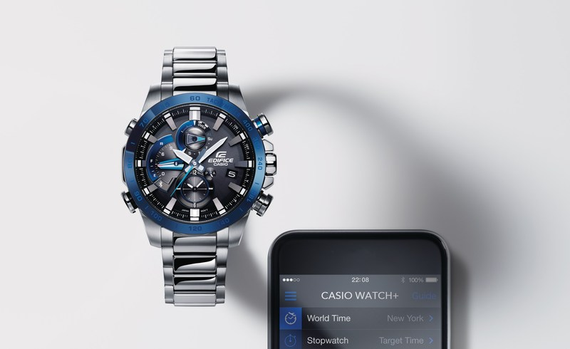 Casio America, Inc. announces the EQB800 as the newest model in its EDIFICE collection of men's watches.