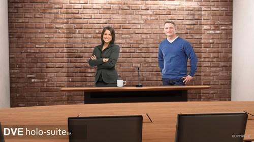 DVE Holo-Suite www.DVEtelepresence.com