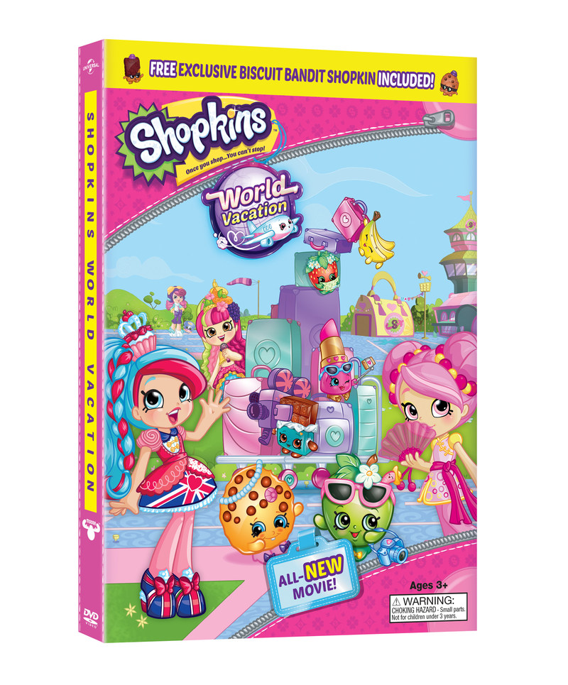 From Universal Pictures Home Entertainment: Shopkins: World Vacation