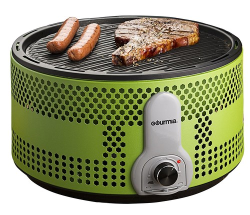 Gourmia offers an ensemble of go-anywhere electric and battery-powered appliances that are perfect for tailgating parties, including this Portable Charcoal Electric BBQ Grill!