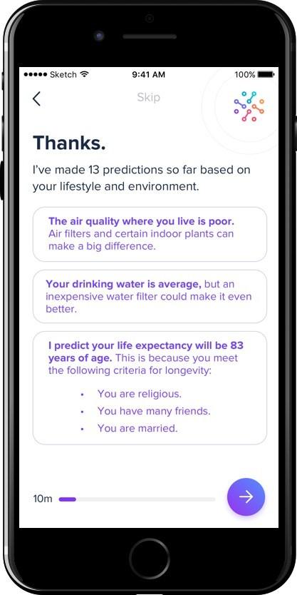 doc.ai in-app screenshot