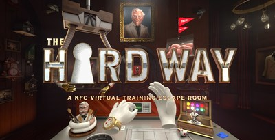"""""""The Hard Way"""" virtual reality experience takes employee training to a new level to teach KFC cooks how to make fried chicken in a way the Colonel never could have imagined."""