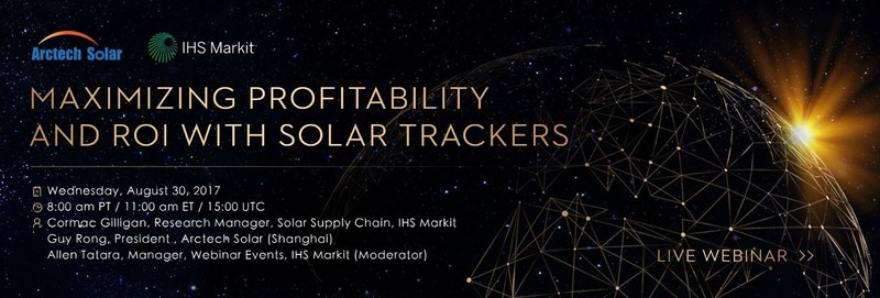 Maximizing profitability and ROI with solar trackers