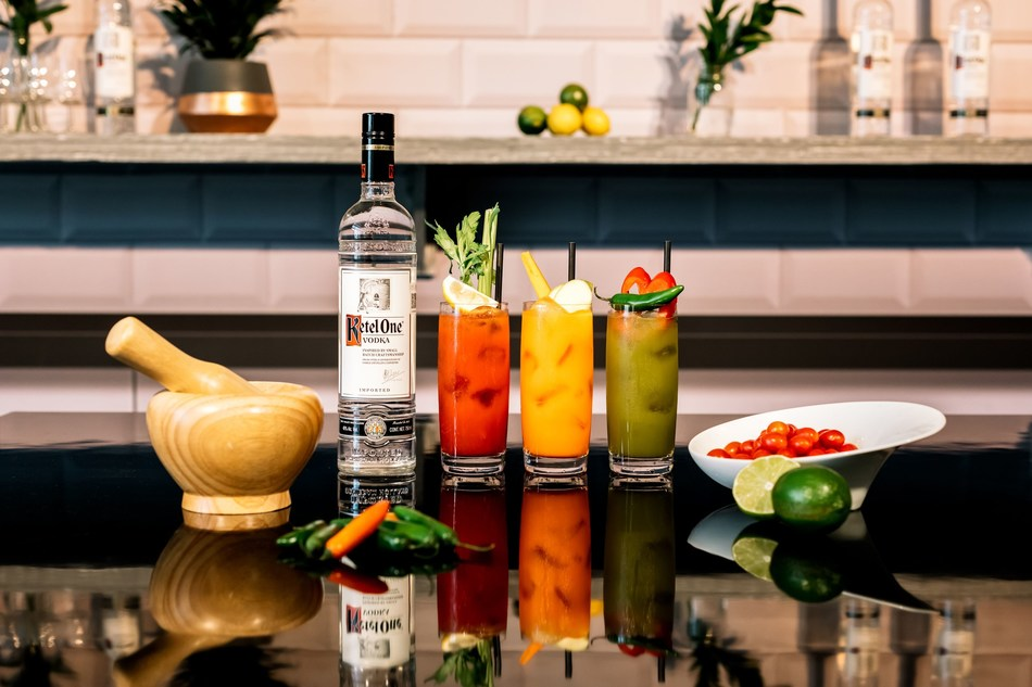 This week, at the World Class Bartender of the Year final, 55 elite bartenders from the four corners of the globe each created their own variation of the classic Bloody Mary. With thousands of different ingredients and garnishes on display the results were spectacular, but despite their differences each shared one important unifying factor, the bartender's favourite vodka: Ketel One. (PRNewsfoto/Ketel One Vodka)
