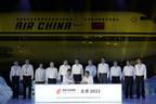 Air China, partenaire officiel des services de transport aérien de passagers pour Beijing 2022 (PRNewsfoto/Air China)