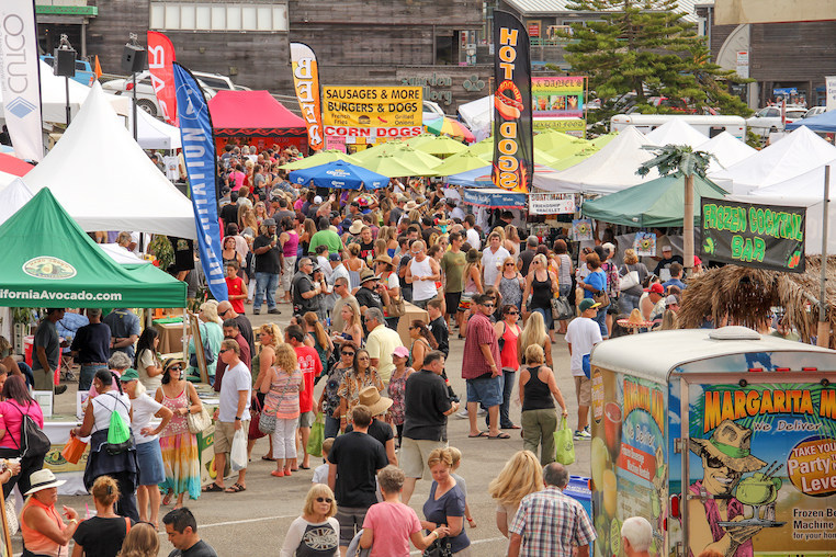 Don't miss the fun fall music and food events in Morro Bay, CA.