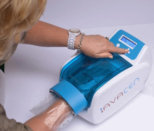 The AVACEN 100 is a Class II medical device that uses the AVACEN Treatment Method.