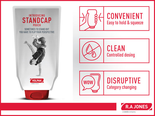 Revitalize signature brands, improve shelf appeal, and enhance the overall customer experience with your product by adopting the STANDCAP Pouch solution.
