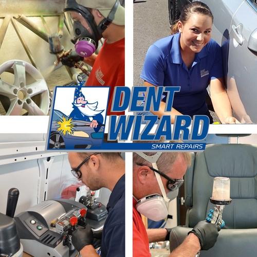 Dent Wizard Technicians on the Job