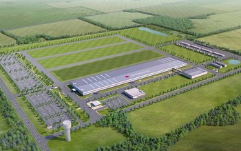 Rendering of the LG Home Appliance Factory in Clarksville, Tenn. opening in 2019.