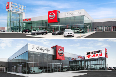 HGregoire solidifies its leadership position in Quebec - Company Inaugurates Two New Nissan Dealerships in Laval (CNW Group/HGregoire)