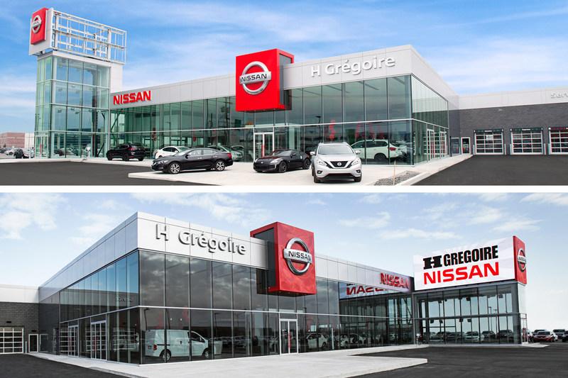 HGrégoire consolide sa position de chef de file au Québec - L'entreprise inaugure deux nouvelles concessions Nissan à Laval (Groupe CNW/HGrégoire)