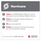Hurricane Harvey Strengthening: Red Cross Urges Gulf Coast Residents to Make Emergency Preparations Now