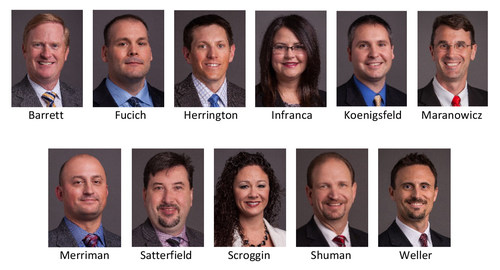 Eleven employee-owners of Burns & McDonnell have joined the firm's Principal Group this year.