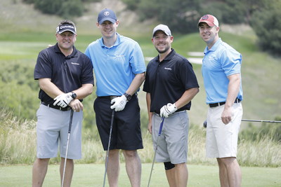 RentPath, top sponsor of the 2017 Aimco Cares Charity Golf Classic, was represented by the team of Bob Clouser, Kevin Murphy, Rick Sells and Brian Bradford at Sanctuary Golf Course in Sedalia, CO.