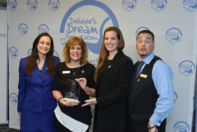 DDF President and Founder Debbie Zelman, 2017 DDF Volunteer of the Year Award Recipient and New Jersey Chapter Leader Melani Vincelli, DDF North Carolina Chapter Leaders Christy and Tony Leonard