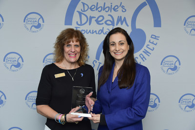 2017 DDF Volunteer of the Year Award Recipient and New Jersey Chapter Leader Melani Vincelli and DDF President and Founder Debbie Zelman