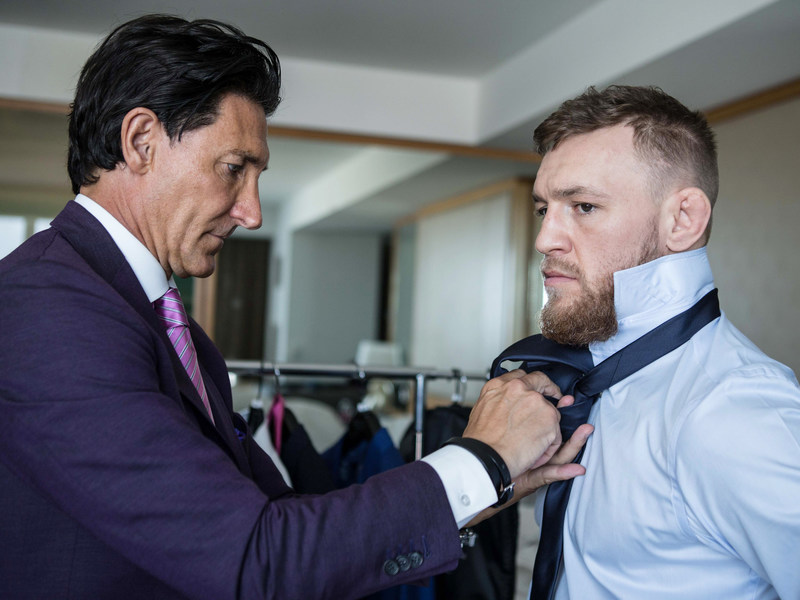 McGregor has officially partnered with the custom clothing brand David August in creating August McGregor, a new menswear label offering complete modern suiting, sportswear and accessories inspired by McGregor's iconic style.